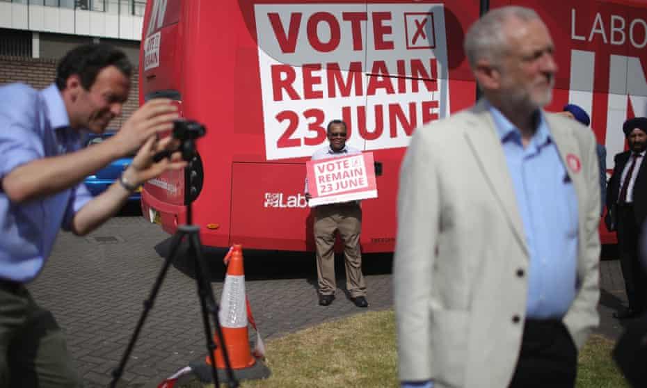 Jeremy Corbyn in West Bromwich