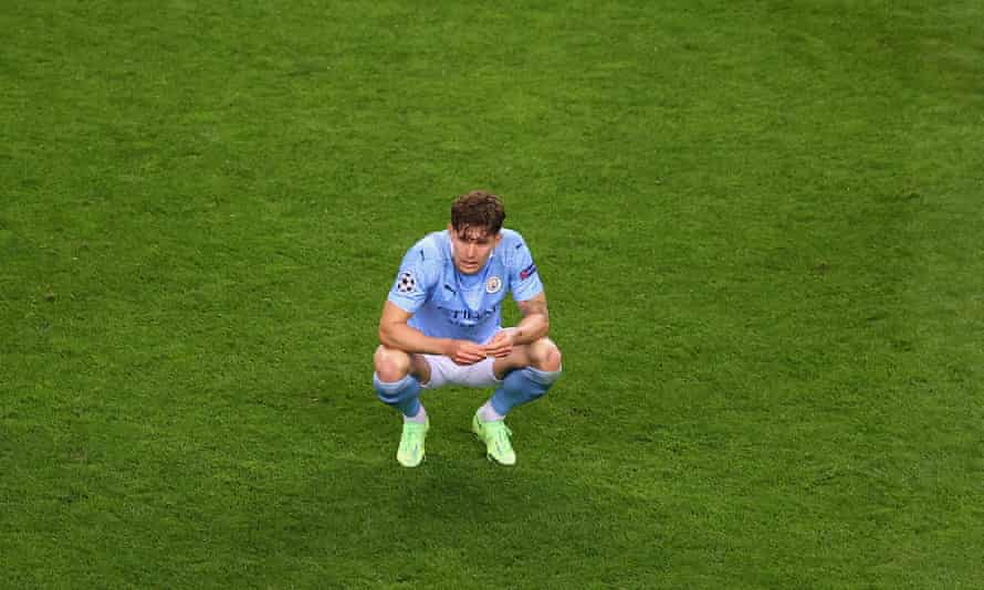 John Stones has not played for City since the Champions League final
