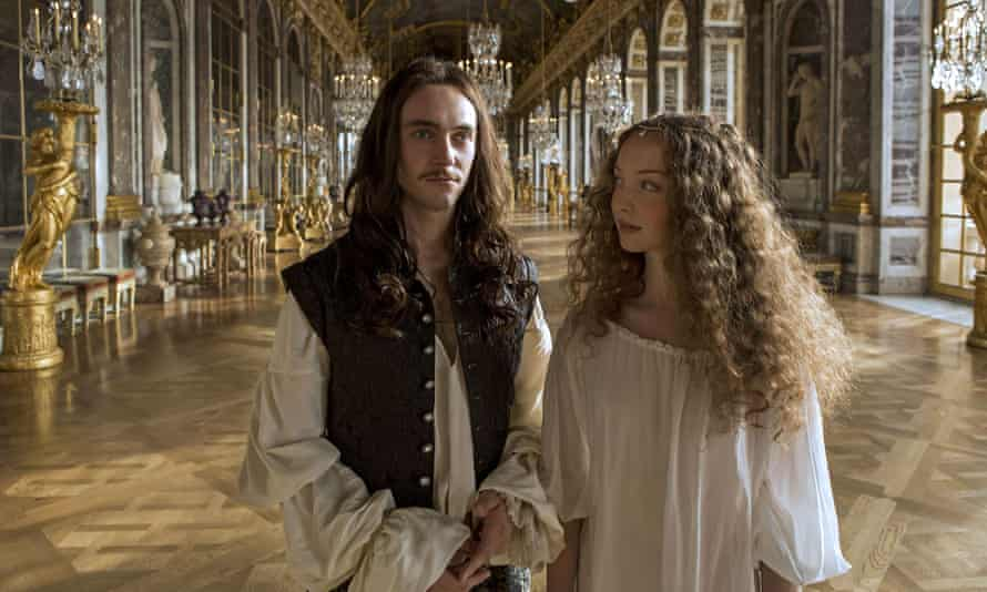 It's not just bonking: there's violence, too: Louis XIV (George Blagden) and Nymphe (Alexia Giordano) in Versailles.