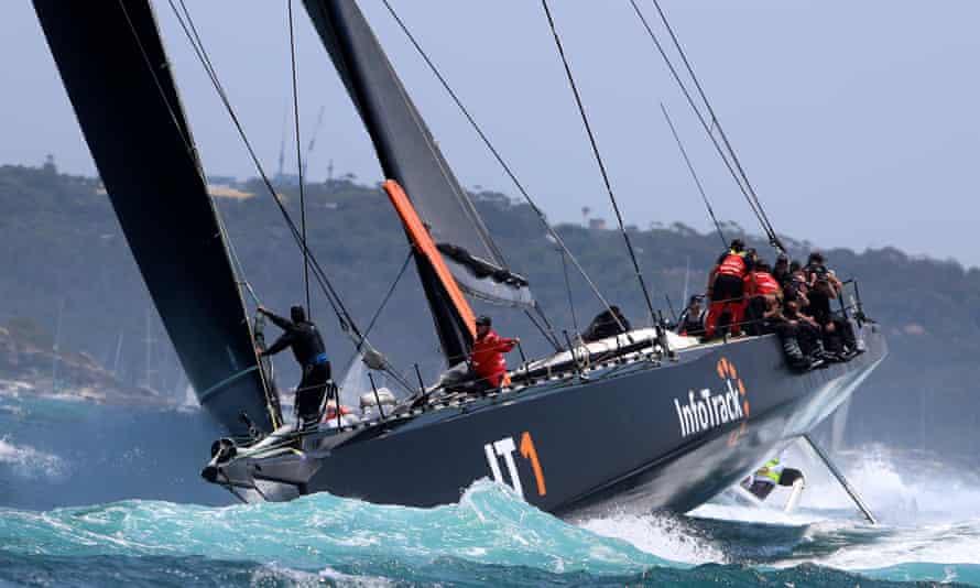 K100 yacht InfoTrack