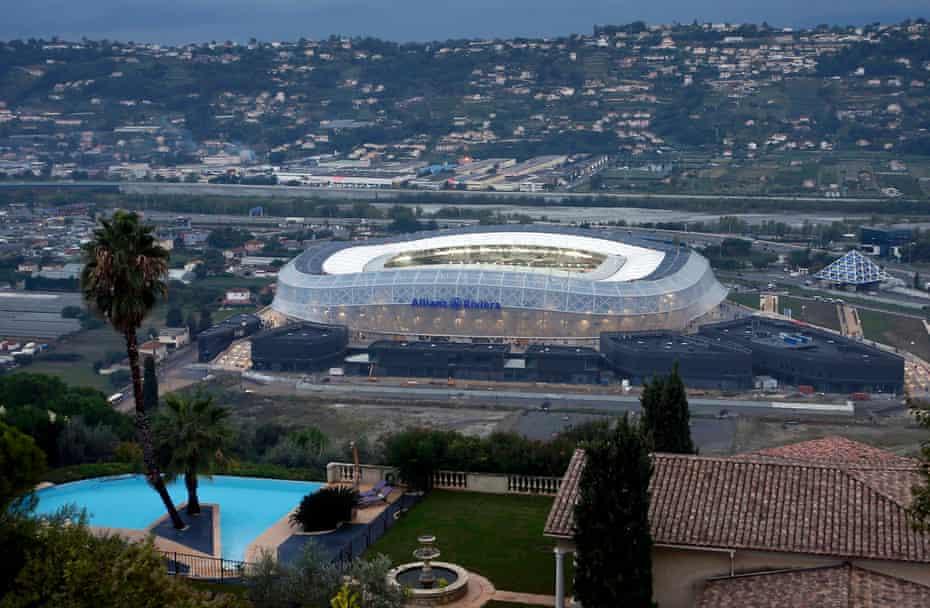 Stade de Nice.