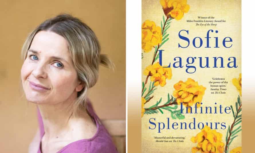 Sofie Laguna and her new book, Infinite Splendours.