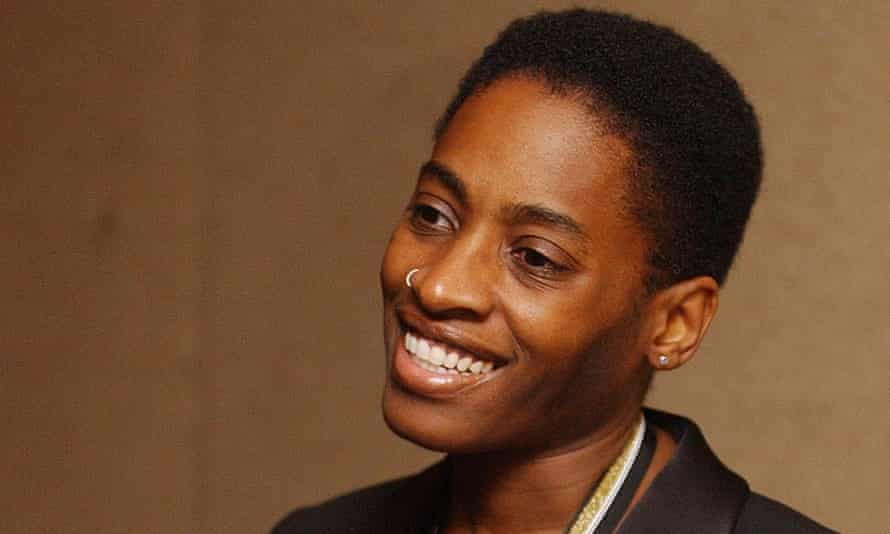 Jacqueline Woodson, winner of the National Book Award for young people's literature.