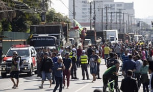 Brazil's truck drivers reject concessions as strike goes into eighth