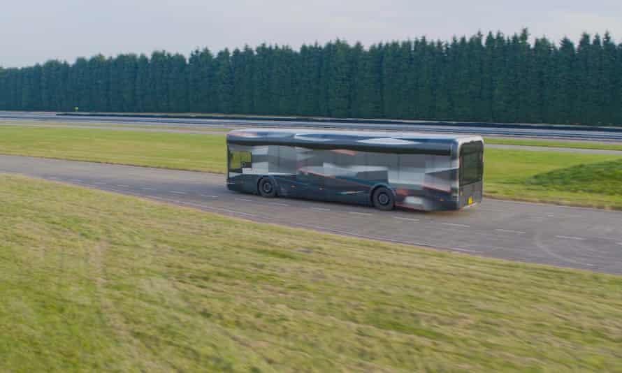 An Arrival bus.