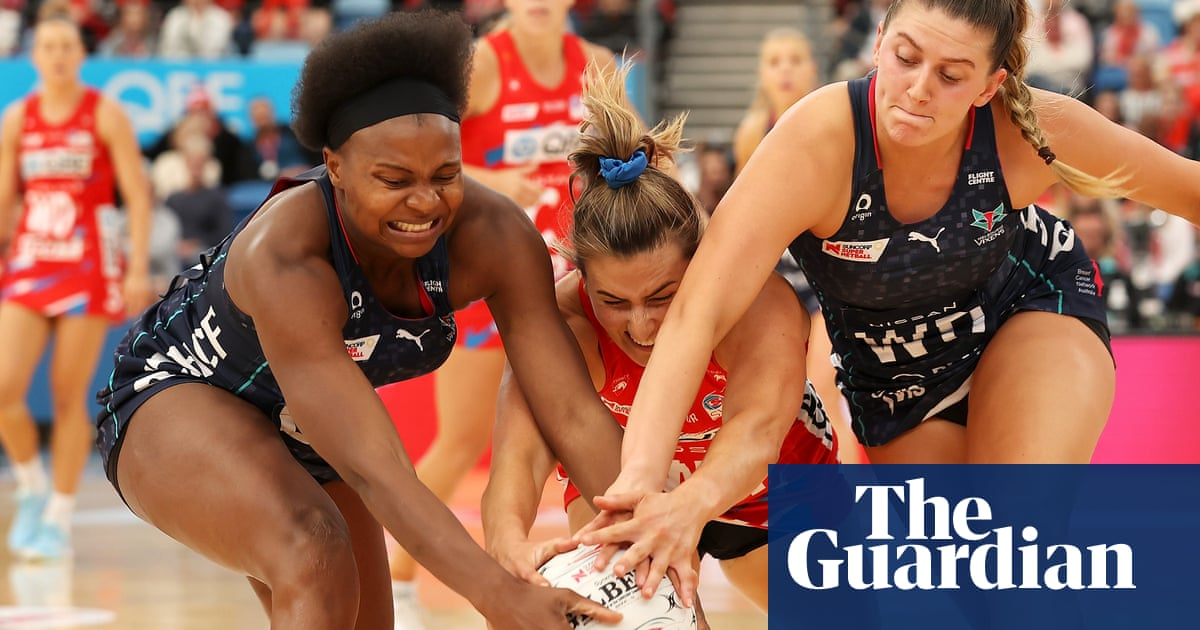 Netball's not a tough sport? Players let game do talking in brutal riposte | Erin Delahunty