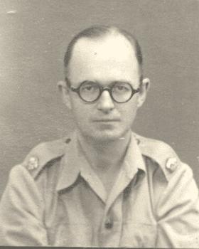 Marina's father, Esmond Warner, c1940