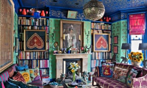 'Modernism is the enemy of pattern' … late photographer and designer Henry Wilson's Chelsea home.