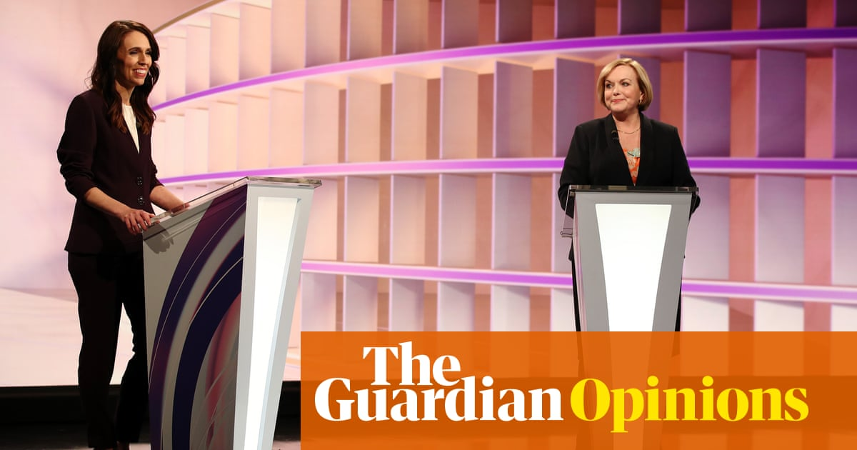 First TV debate between Ardern and Collins avoids being a horror show – The Guardian