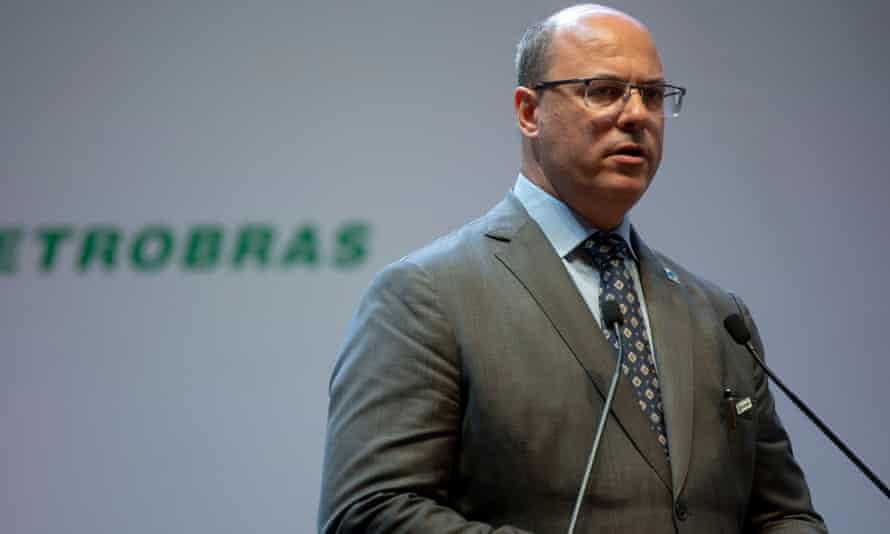 Wilson Witzel in Rio de Janeiro, Brazil on 3 January.