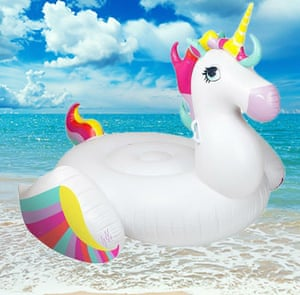 Silly season: got your unicorn inflatable yet?