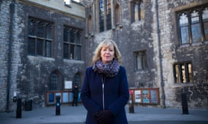 Melissa Benn outside Westminster school. The annual fees amount to a year's pay for many in Britain.