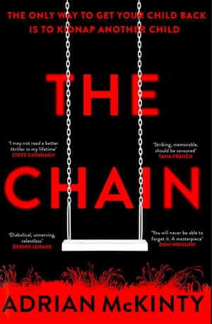The Chain by Adrian Mckinty book cover