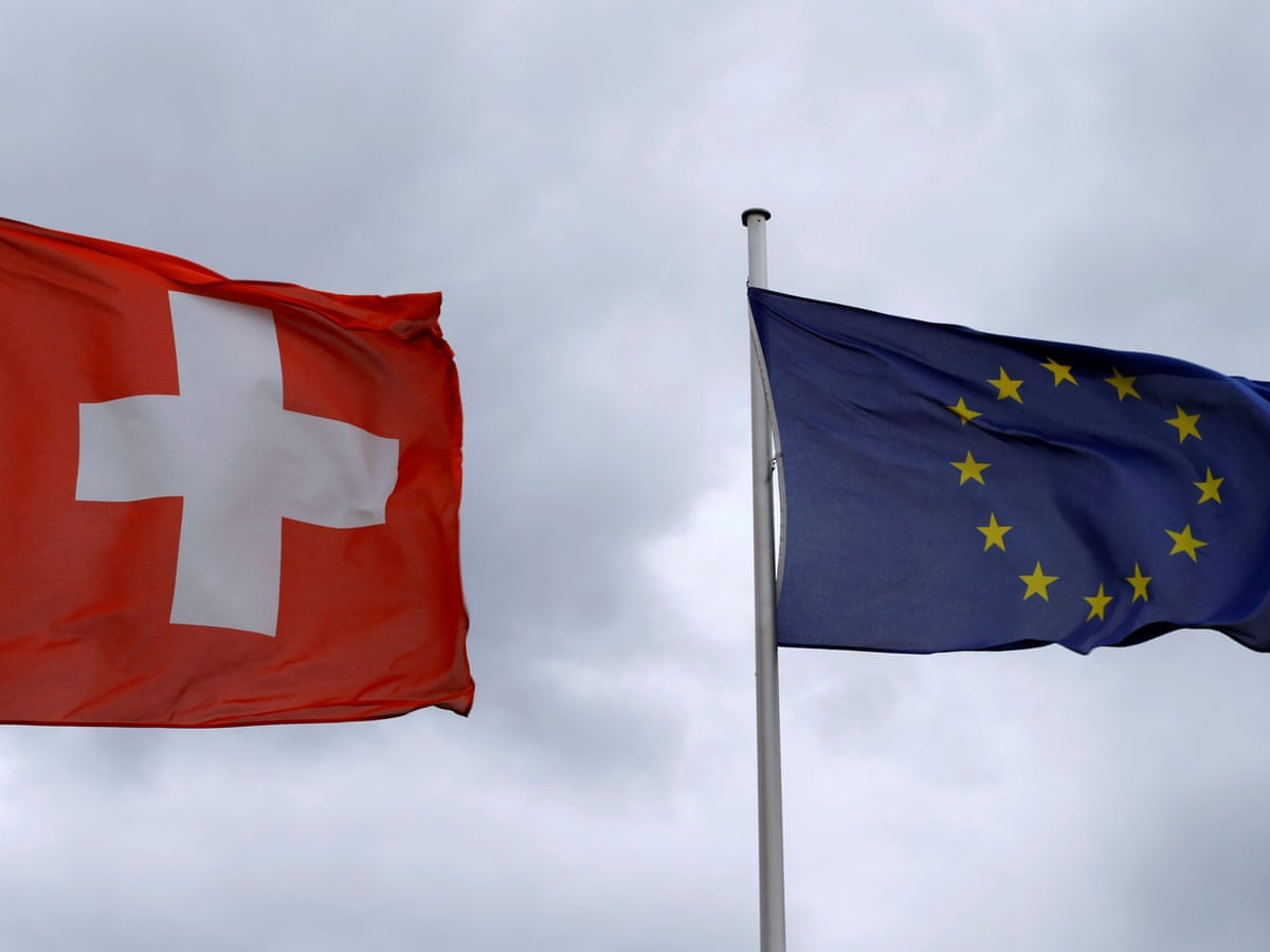 Swiss volunteer for more destruction of their economic sovereignty and preservation of culture, bow to the EU superstate. (apnews.com)