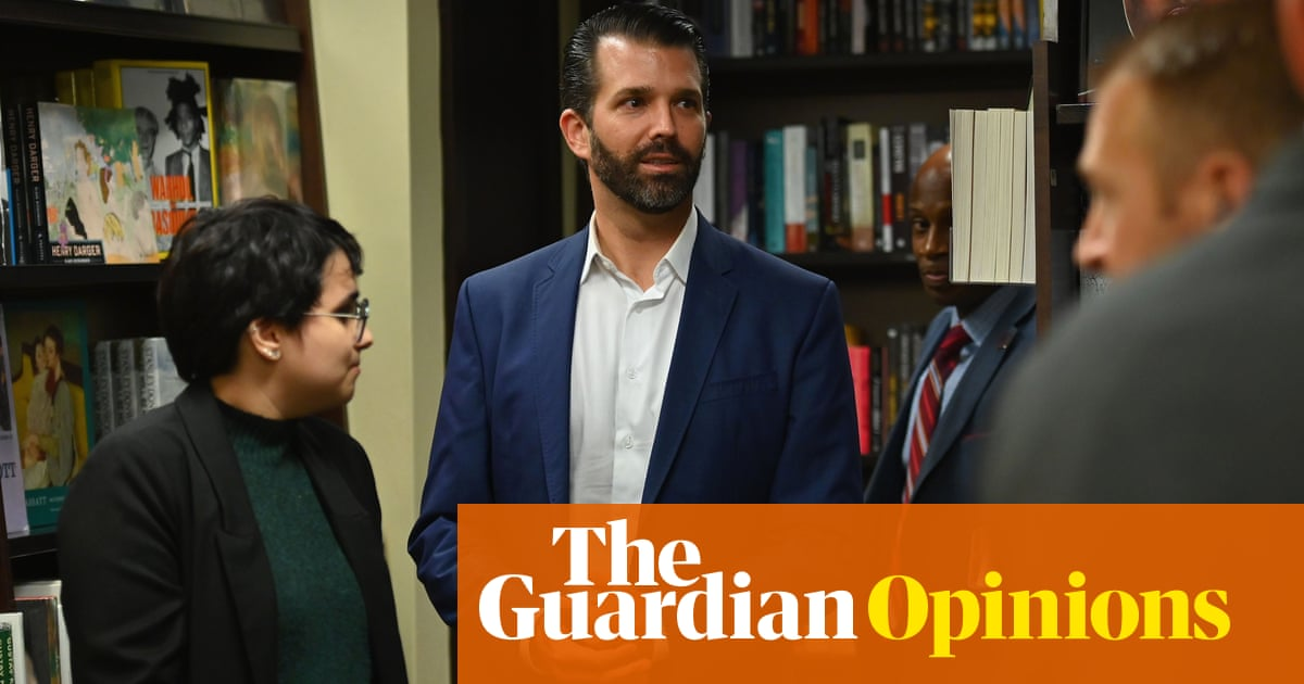 Donald Trump Jr's disastrous book launch may seem funny – but there's a very dark side to the booing | Arwa Mahdawi