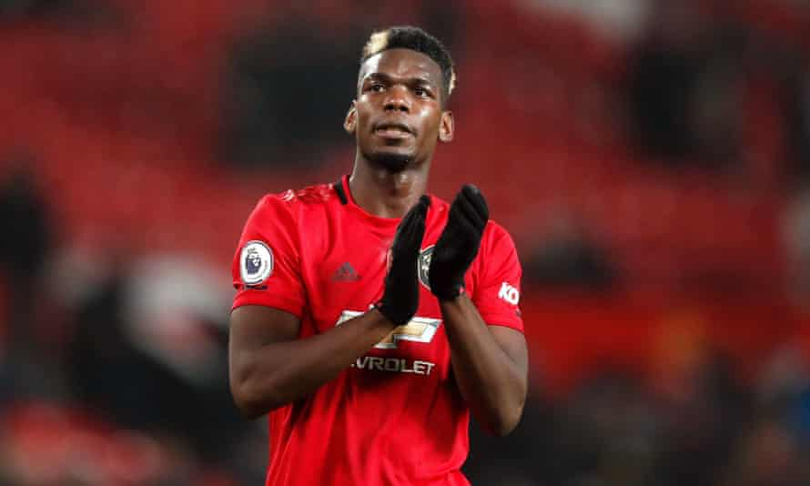 Before the season's suspension, Paul Pogba had not featured since United's Boxing Day win against Newcastle, the last of eight appearances in a campaign disrupted by previous ankle problems.