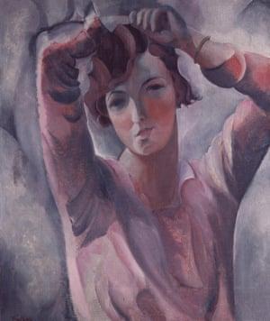 Defiant pose … Self-Portrait by Paule Vézelay.