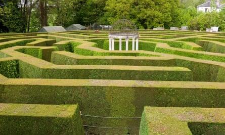 The maze at Symond's Yat West.