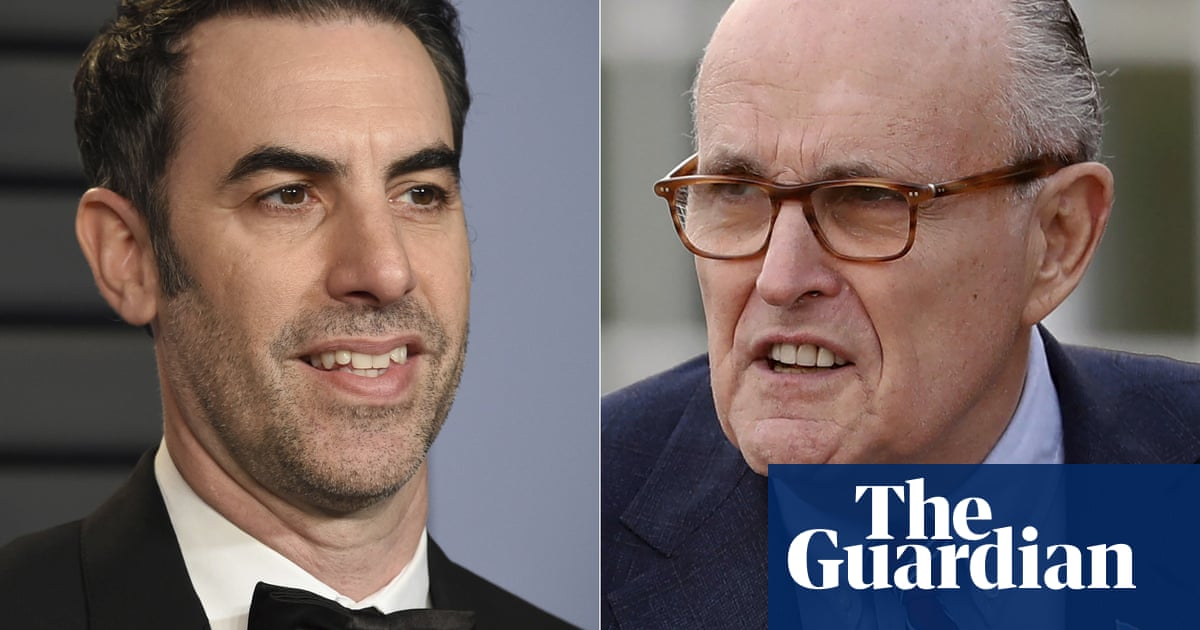 Rudy Giuliani wins a Razzie for his role in Borat Subsequent Moviefilm