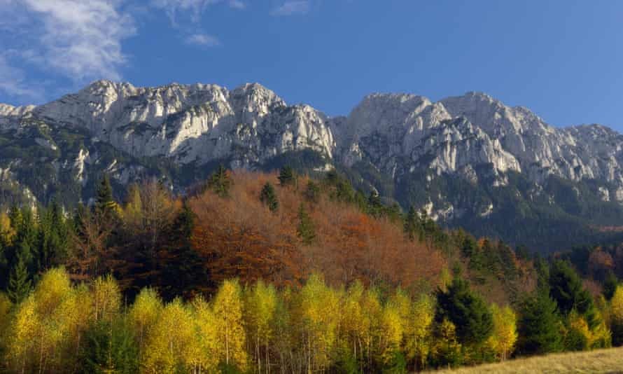 Piatra Craiului mountains, Romania.