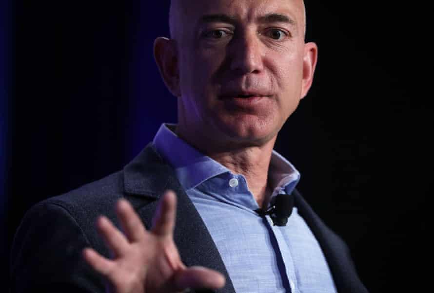 Jeff Bezos, the founder and chief executive of Amazon.com