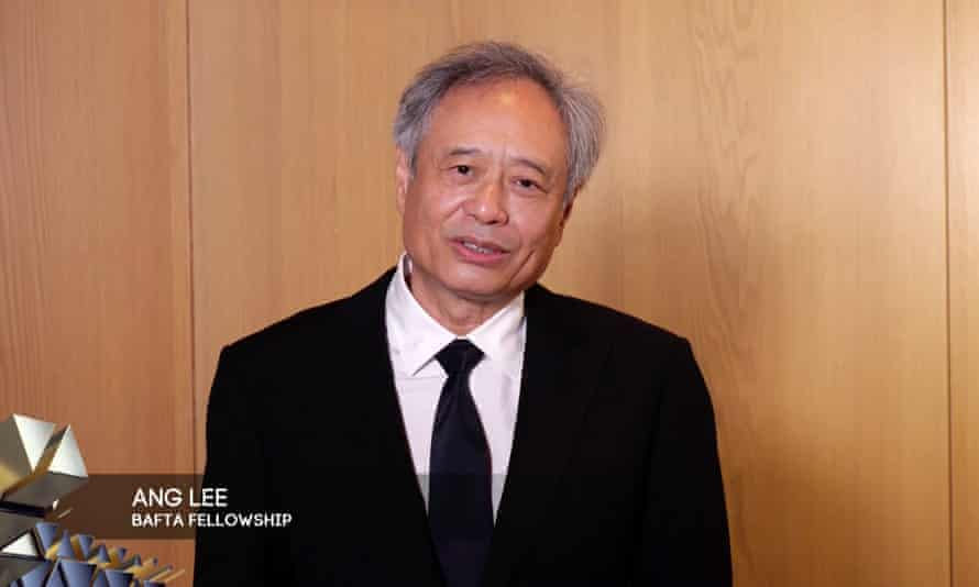 Ang Lee at the Baftas.