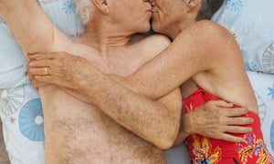 Kissing and intimate touching can be part of a fulfilling sex life for older people