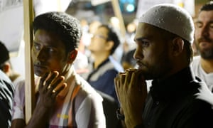 Muslims gather in Sydney to protest at anti-Islam coverage