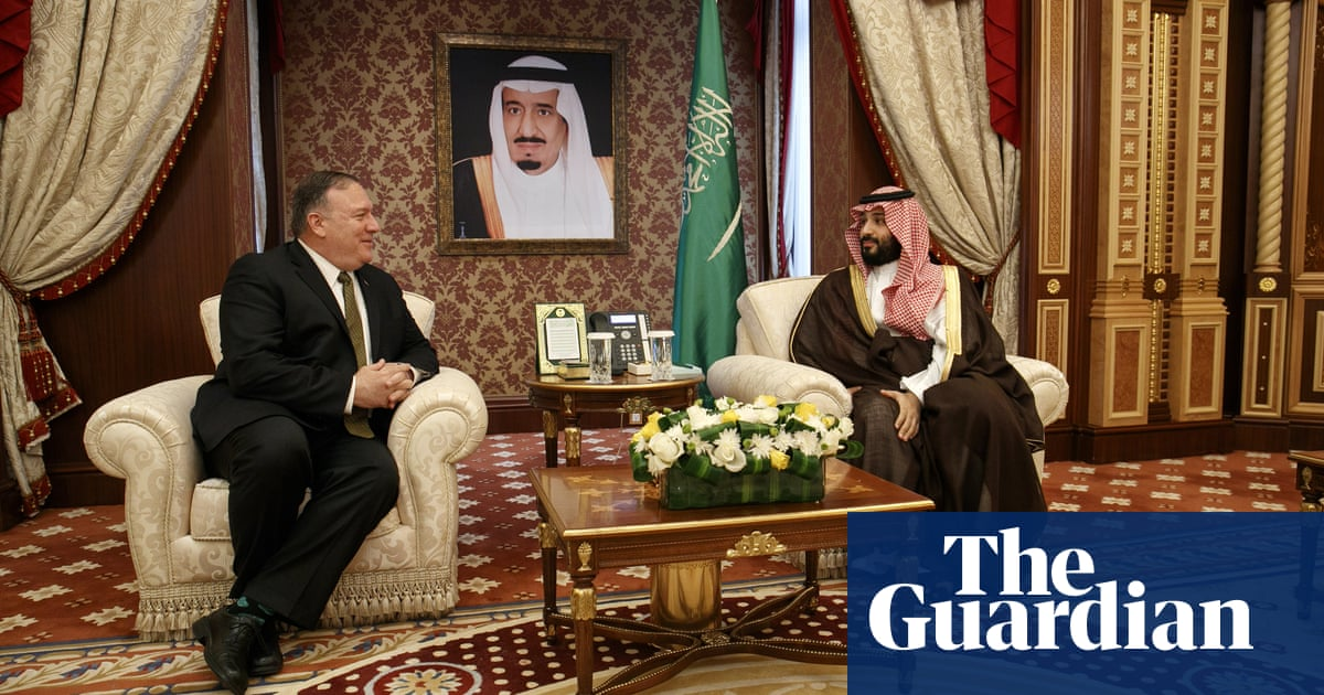 Mike Pompeo arrives in Saudi Arabia for talks about anti-Iran alliance