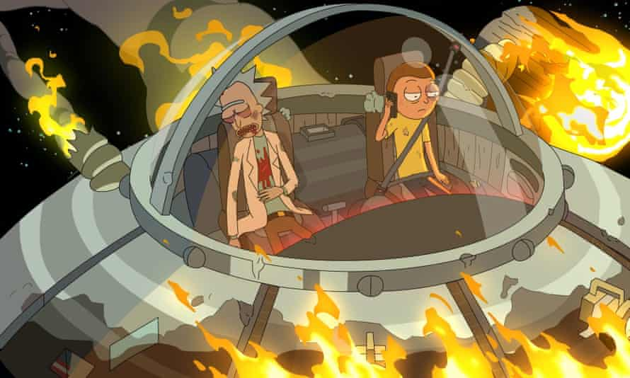 'Hi, Jessica? I wanna say that you're really great' ... Morty makes what he believes to be his last phone call in episode one of series five.