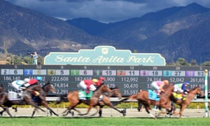 Santa Anita is one of the most famous venues in American racing