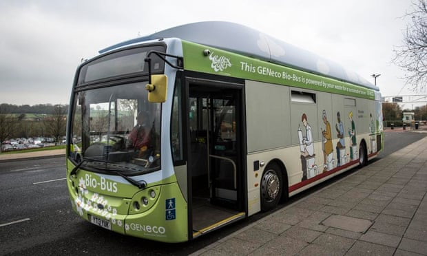 Bristol's Bio Bus runs on faeces and household waste.