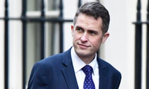 Gavin Williamson, the defence secretary.