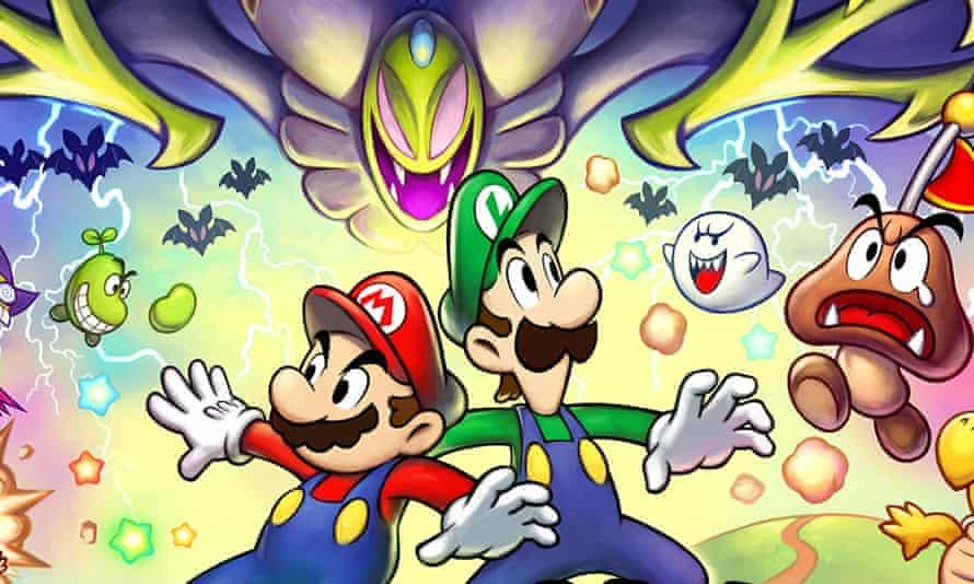 Mario & Luigi: teaming up again to good effect.