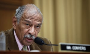 Referring to allegations of sexual harassment and assault being made against politicians and others, John Conyers says he had 'been looking at these things with amazement'.
