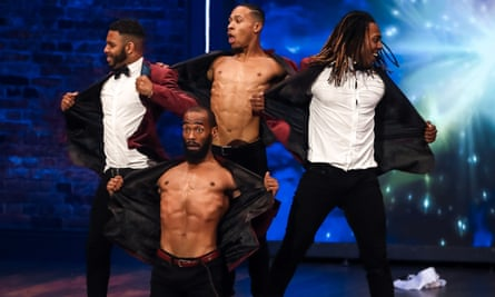 Streetdance group the Frobacks audition on BBC1's The Greatest Dancer