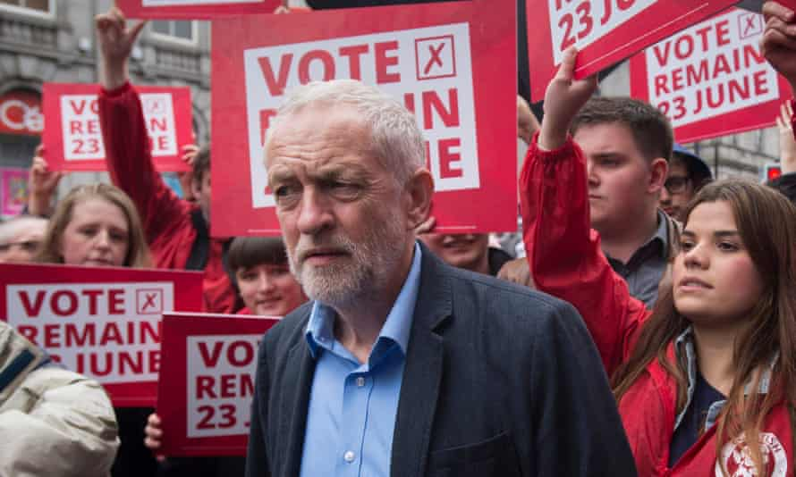 Labour leader Jeremy Corbyn campaigns for Remain in Aberdeen, with less than two weeks until the vote
