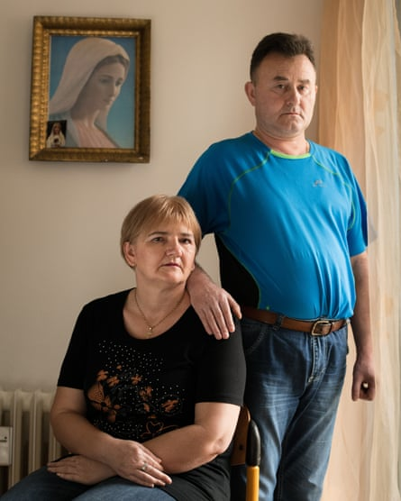 Zoran Stih and Ruzica Vidakovic met at the institution in Osijek. They moved out in 2015 and are now married and living in an apartment in the town.