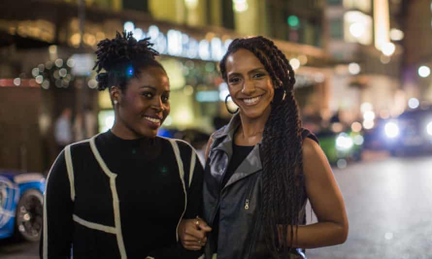 Afua Hirsch (right) and her friend Lola.