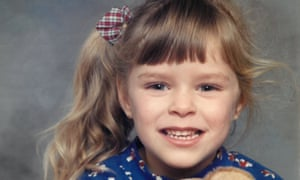 Katherine as a child
