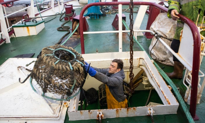 We want a better deal': talking Brexit aboard a fishing trawler