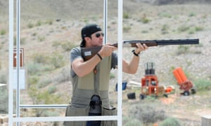 Luke Bryan at the NRA Country/ACM Celebrity Shoot