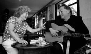 Shirley Collins and Stewart Lee