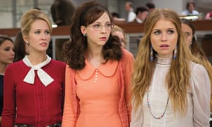 Secret plotters ... Jane, Cindy and Patti in Good Girls Revolt.