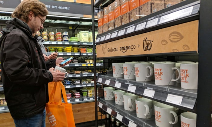 Amazon Go Convenience And Concern At New Checkout Free Corner