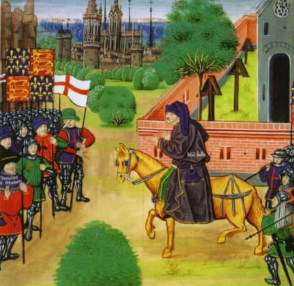 The English peasants' revolt of 1381.