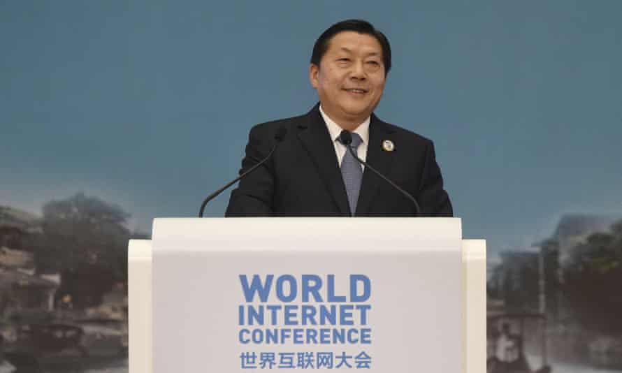 Lu Wei, who was the boss of China's cyberspace administration until this week.