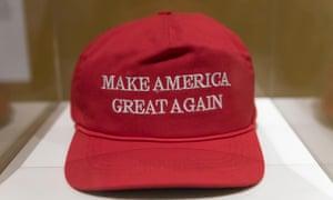A 'Make America Great Again' hat