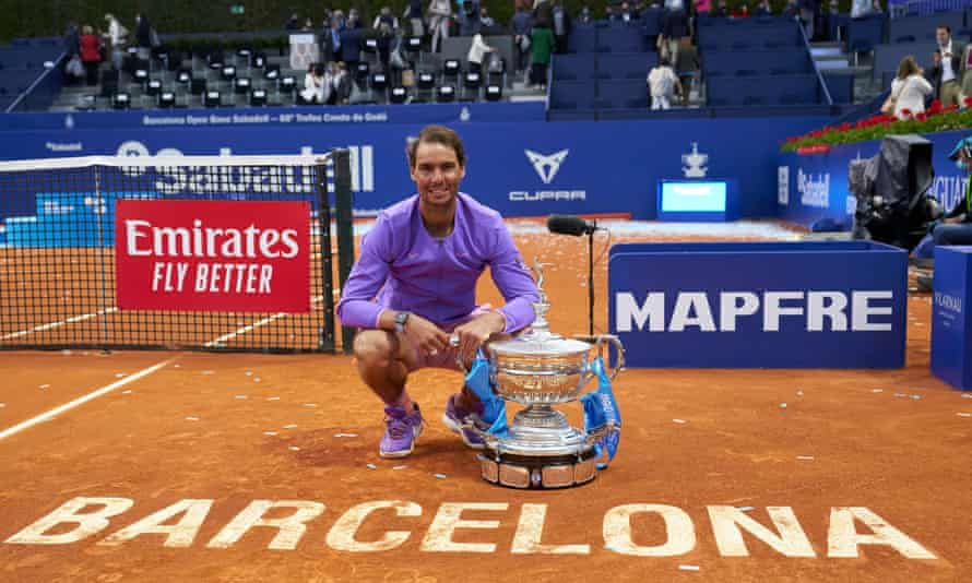 Rafael Nadal won his 12th Barcelona Open in three tough sets.