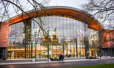 The Oculus building, University of Warwick.